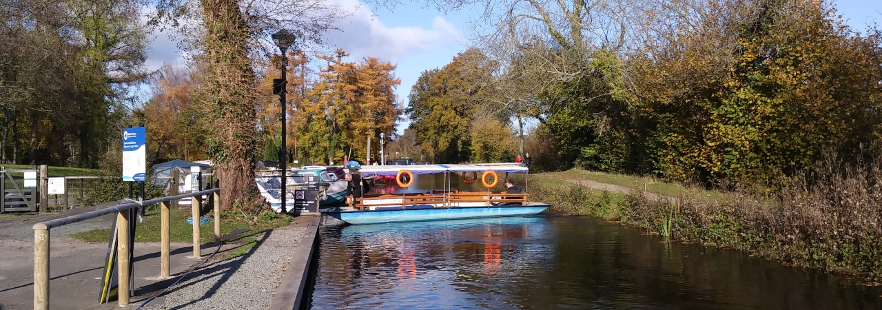Edith Elizabeth at Goytre Wharf