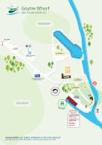 Goytre Wharf Site Map