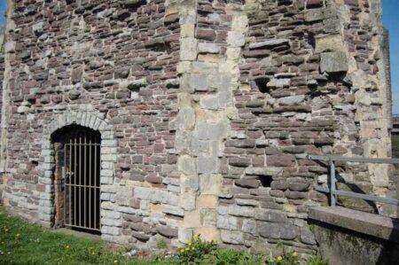 Newport Castle red sandstone