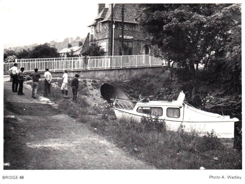 Crown Bridge 48 before restoration