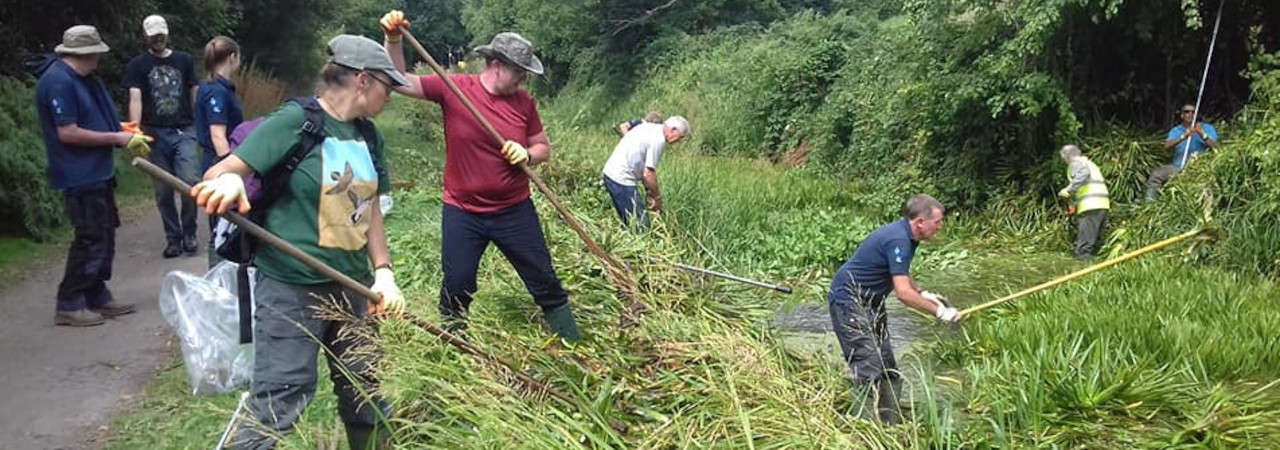 MBACT canal volunteers