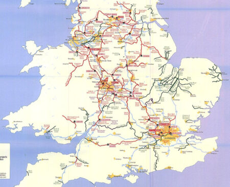 Canal Network England and Wales