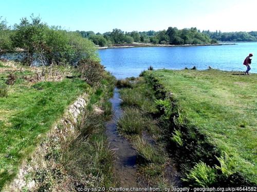 Canal feeder from Pen Y Fan Canal Reservoir
