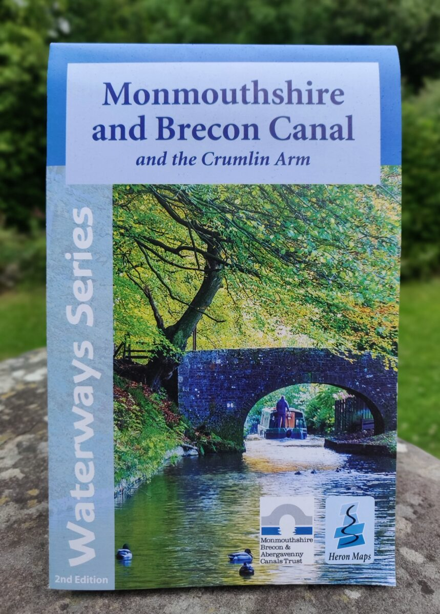 Monmouthshire and Brecon Canal Map, by Heron Maps